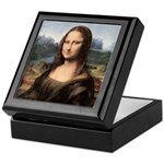 Mona Lisa Painting / Portrait Keepsake Box