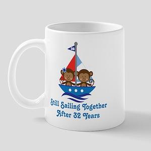 32nd Anniversary Sailing Mug