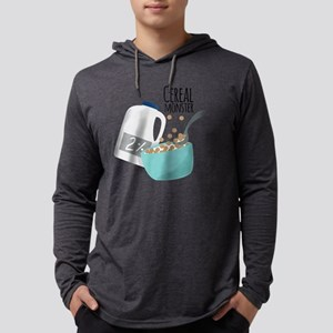 Cereal Monster Mens Hooded Shirt