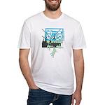 Retro 80's Breakdance B-Boy Fitted T-Shirt