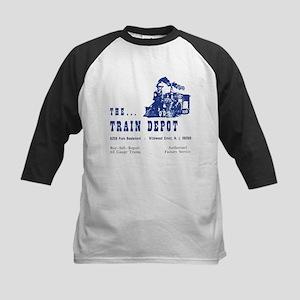 The Train Depot Kids Baseball Jersey