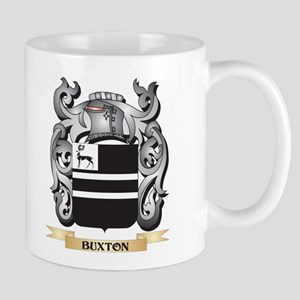Buxton Family Crest - Buxton Coat of Arms Mugs
