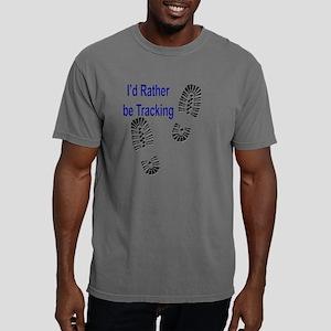 trackingshirtratherblk.p Mens Comfort Colors Shirt
