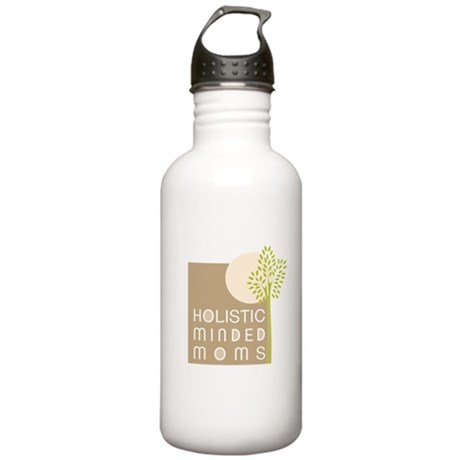 First Tree and Moon logo Stainless Water Bottle 1.