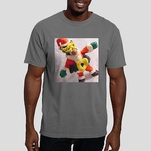 Santa Sloth_B Mens Comfort Colors Shirt