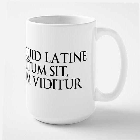 Latin Large Mug