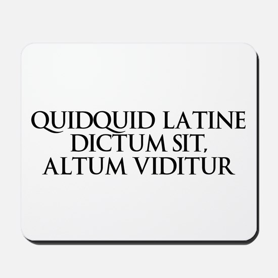Latin Mousepad