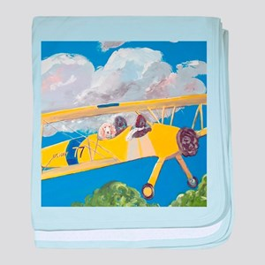 """Flight Crew"" baby blanket"