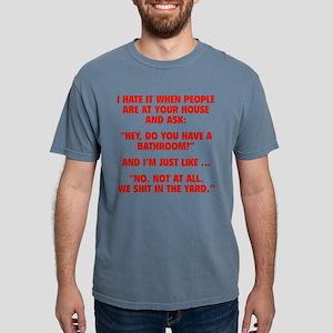 bathroomYard1C Mens Comfort Colors Shirt
