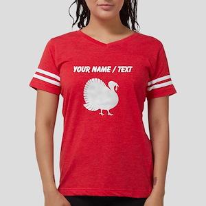 Turkey Silhouette (Custom) Womens Football Shirt