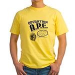 Operation A.P.E. Yellow T-Shirt