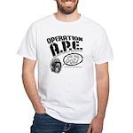 Operation A.P.E. White T-Shirt