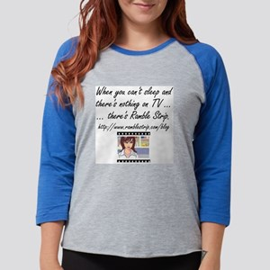 blog_logo_whenyoucantsleep Womens Baseball Tee