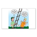 Ladder Lashing Sticker (Rectangle 50 pk)