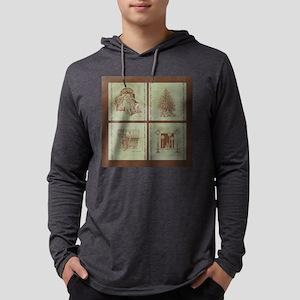 buon natale master Mens Hooded Shirt