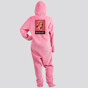 Pop Art Mozart Footed Pajamas