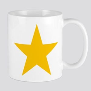 yellow star 1 Mug