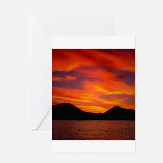 Cabo Sunset Greeting Card