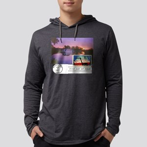 Erie Canal Mens Hooded Shirt