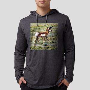 AntelopeSqtxt Mens Hooded Shirt