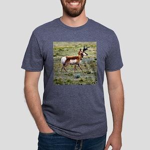 AntelopeSqtxt Mens Tri-blend T-Shirt