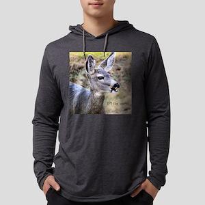 DeerCornSq Mens Hooded Shirt