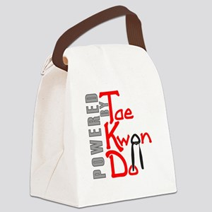 Powered by Tae Kwon Do Canvas Lunch Bag
