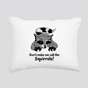 Call the Squirrels Rectangular Canvas Pillow