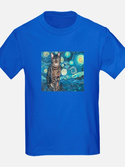 """Starry Night Life"" T"