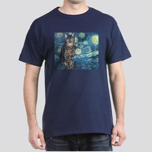"""Starry Night Life"" Dark T-Shirt"
