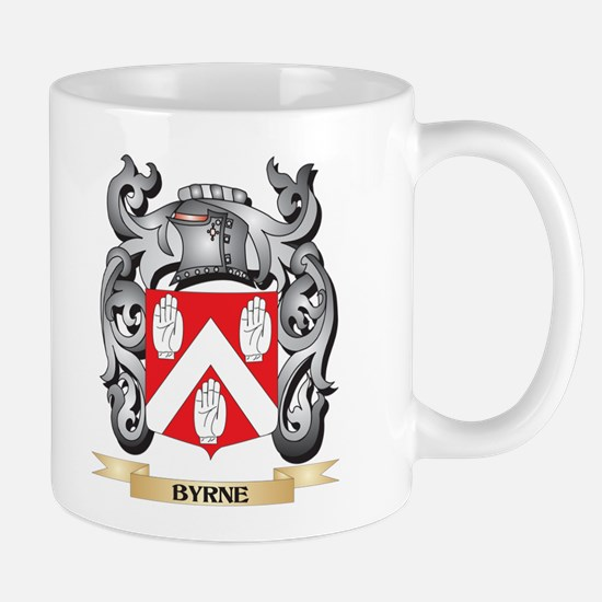 Byrne Family Crest - Byrne Coat of Arms Mugs