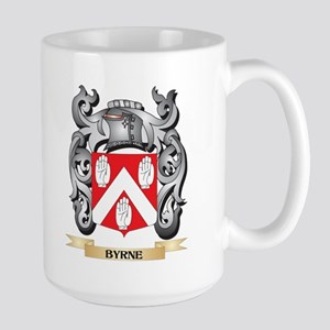 Byrne Family Crest - Byrne Coat of Arms Mugs