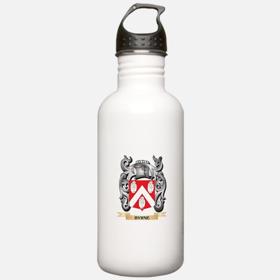 Byrne Family Crest - B Water Bottle
