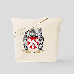 Byrne Family Crest - Byrne Coat of Arms Tote Bag