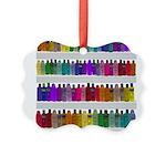 Soap Bottle Rainbow Picture Ornament
