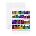 Soap Bottle Rainbow Greeting Cards (Pk of 10)