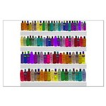 Soap Bottle Rainbow Large Poster