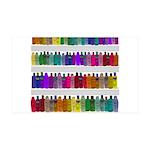 Soap Bottle Rainbow 35x21 Wall Decal