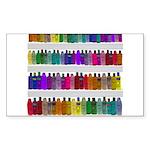 Soap Bottle Rainbow Sticker (Rectangle 50 pk)