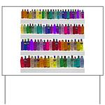 Soap Bottle Rainbow Yard Sign