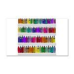 Soap Bottle Rainbow Car Magnet 20 x 12