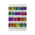 Soap Bottle Rainbow Rectangle Magnet (100 pack)