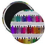 Soap Bottle Rainbow Magnet