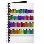 Soap Bottle Rainbow Journal