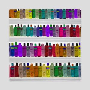 Soap Bottle Rainbow Queen Duvet