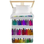 Soap Bottle Rainbow Twin Duvet