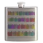 Soap Bottle Rainbow Flask