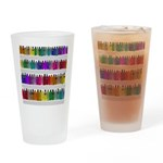 Soap Bottle Rainbow Drinking Glass