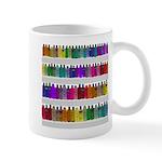 Soap Bottle Rainbow Mug