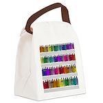 Soap Bottle Rainbow Canvas Lunch Bag